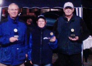Krandelage-Masters 2011 - 1. Gabi, 2. Peter, 3. Hagü